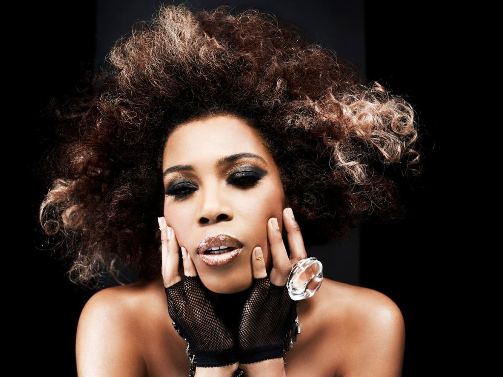 Keeping her vocals rough, Macy Gray expresses concern for America