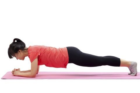 Planking each day keeps the spine doctor away