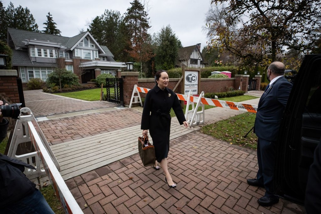 U.S. in talks with Huawei CFO Meng Wanzhou on resolving criminal charges, allowing her to return to China