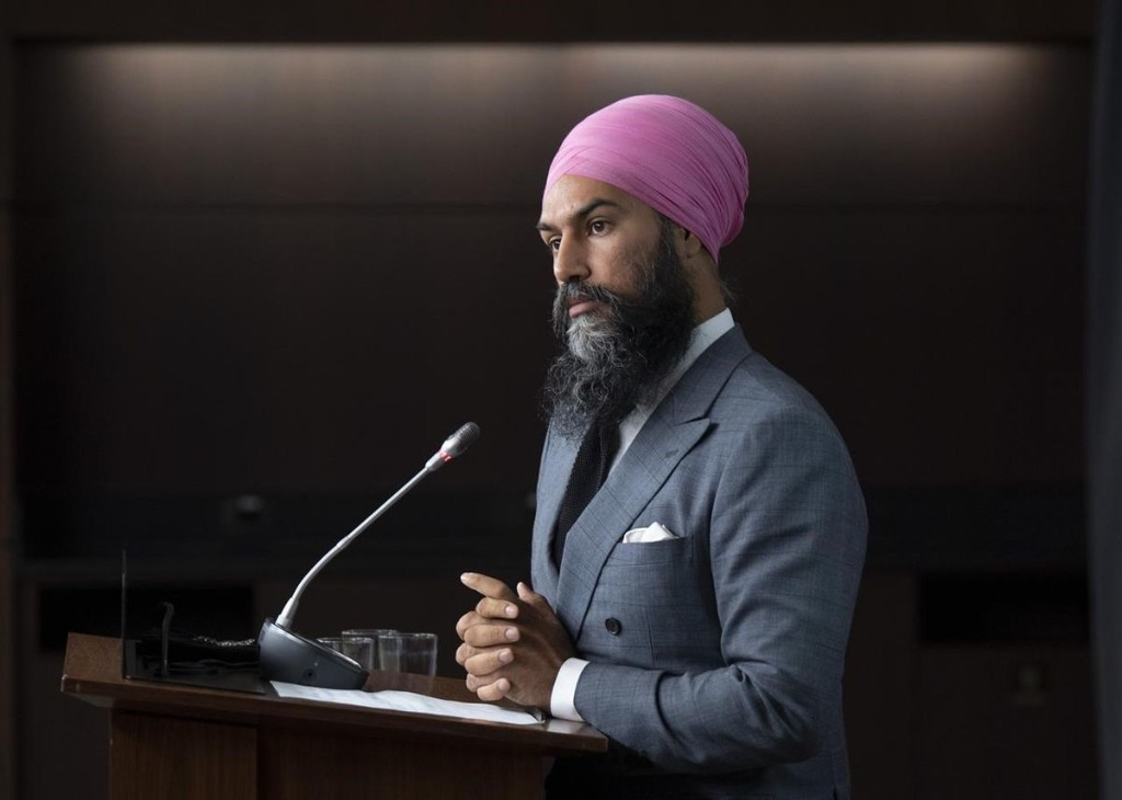 NDP leader Jagmeet Singh not itching to force an election, focused on getting help for Canadians