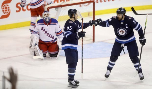 Mark Scheifele has two goals, assist to lead Winnipeg Jets to 4-3 win over Rangers