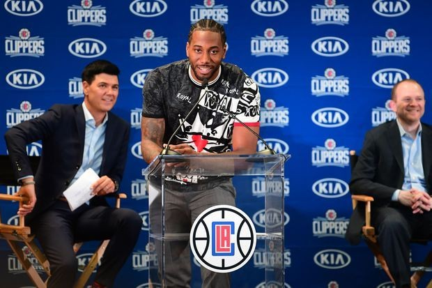 Kawhi Leonard thanks Toronto for 'amazing season' as he joins the Los Angeles Clippers