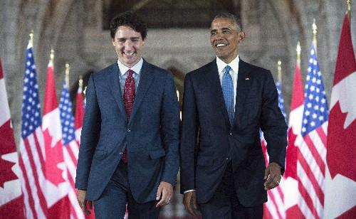 Barack Obama wades into Canadian election, endorses Justin Trudeau