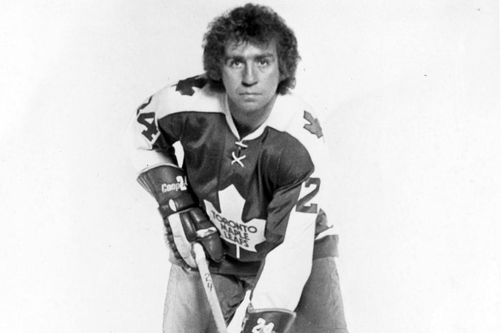 Leafs defenceman Brian Glennie dealt crushing body checks