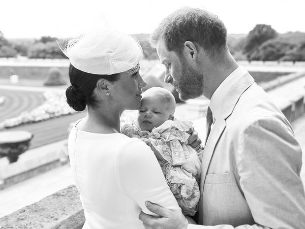 Archie, baby son of UK's Prince Harry and Meghan, christened at Windsor