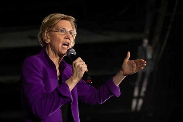 Democratic hopeful Elizabeth Warren vows to break up Amazon, Facebook, Google