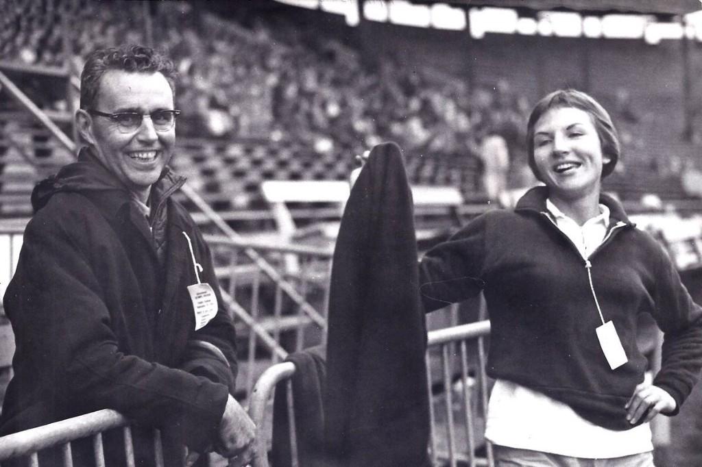 Champion sprinter Irene Piotrowski set a Canadian record at the 1968 Olympics