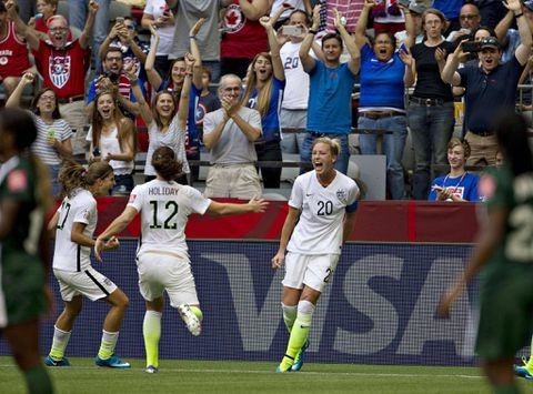 U.S. enters World Cup knockout rounds among the favourites