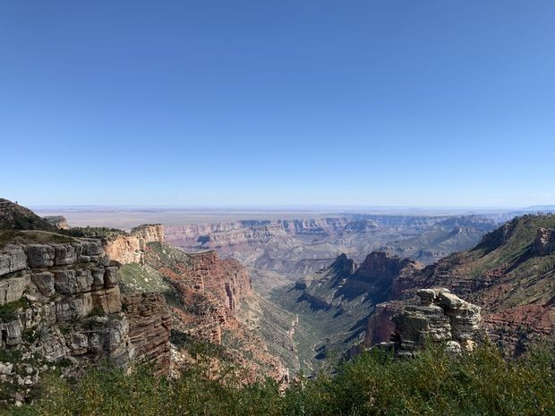 If you're okay with roughing it, a trip to the Grand Canyon's North Rim pays off in spades