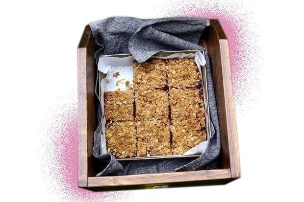 Jam squares recipe