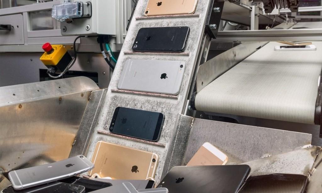 蘋果「碳中和」實驗:設計一台能拆解舊iPhone、回收稀土的機器人 - The News Lens 關鍵評論網