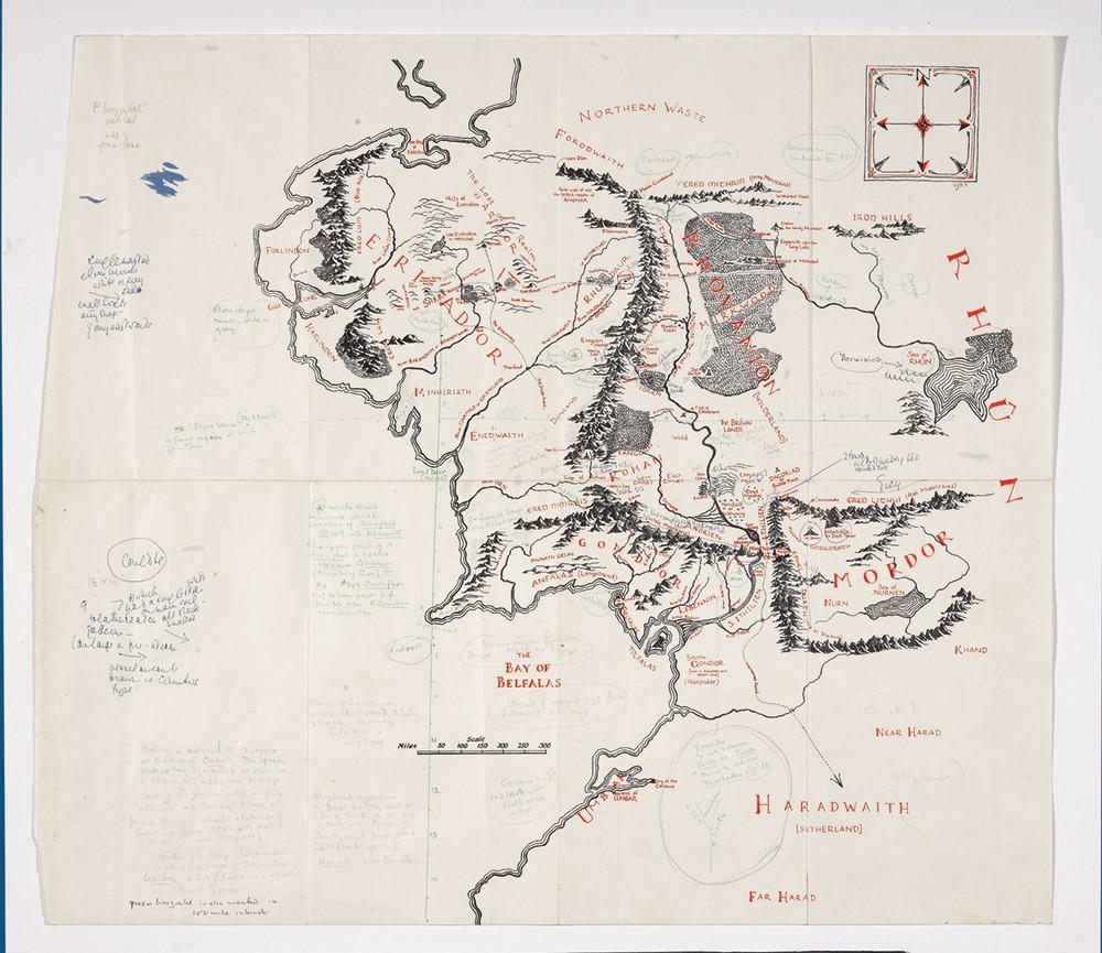 Tolkien's Watercolors