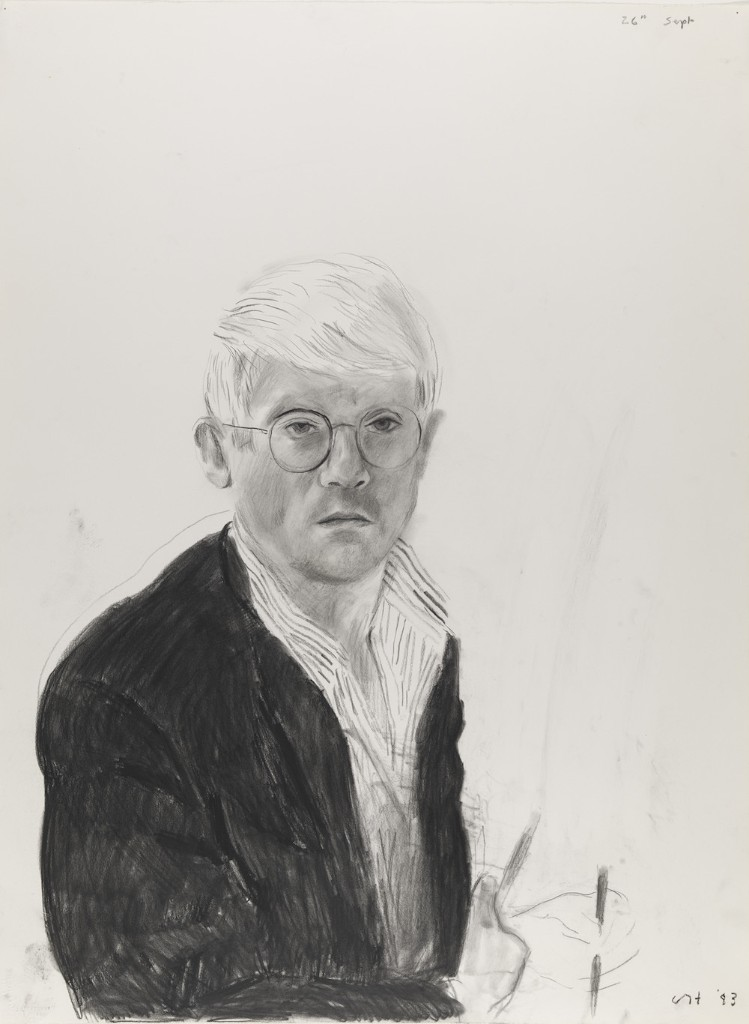 David Hockney's Portraits on Paper
