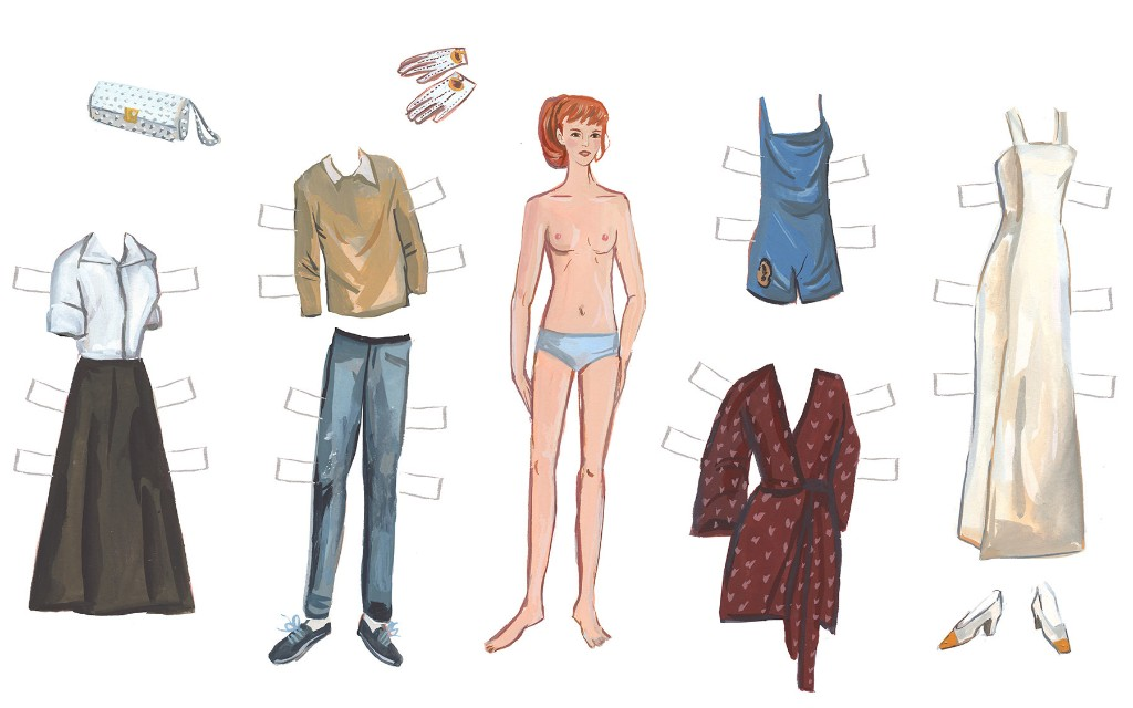 Literary Paper Dolls Archives - The Paris Review