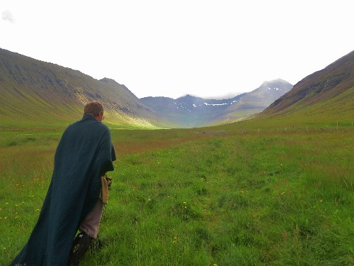 Reciting Sagas in the Westfjords of Iceland