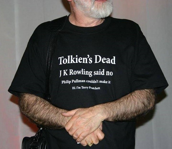 """Terry Pratchett's Advice for """"Keeping It Real"""""""