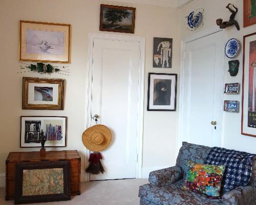 Artworks in the Room Where I Write