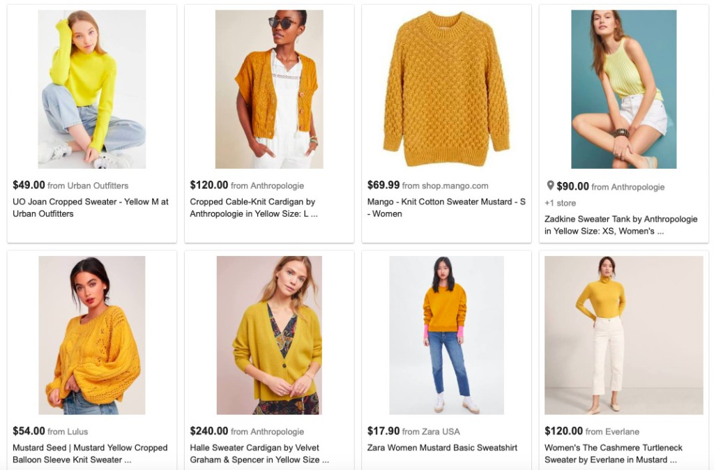 Mustard, the Color of Millennial Candidates, Problematic Lattes, and Aboriginal Paintings