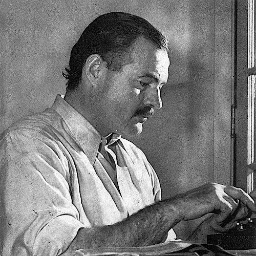 <a href='/authors/3766/ernest-hemingway'>Ernest Hemingway</a>, The Art of Fiction No. 21