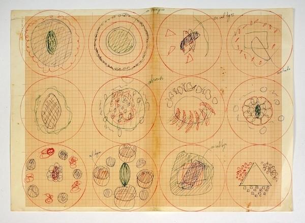 See elBulli Chef Ferran Adrià's Food Drawings