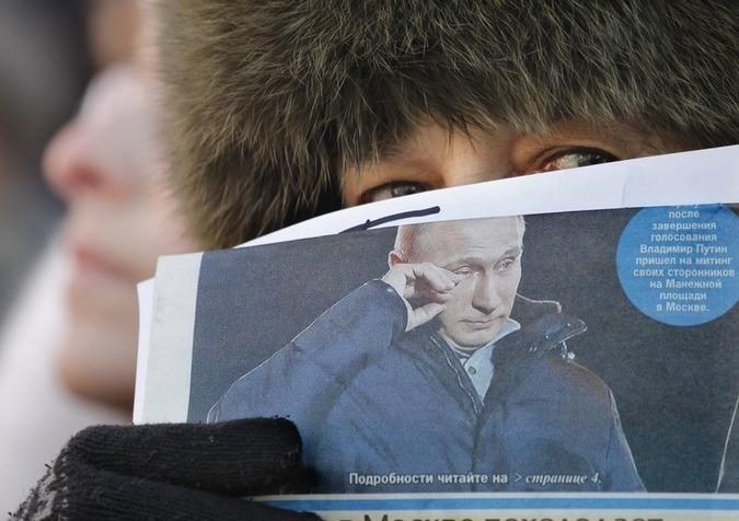 Russia/Crimea - Cold war - Magazine cover