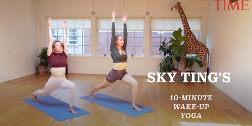 This 10-Minute Morning Yoga Routine Will Help Get Your Day Off to a Bright Start