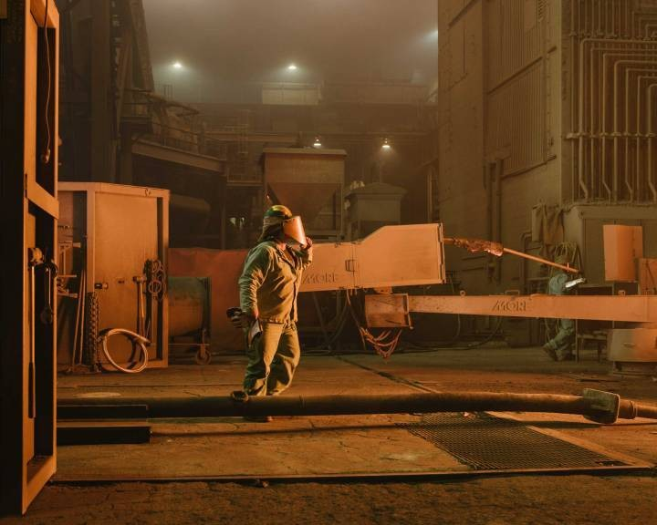 Go Inside an American Steel Mill