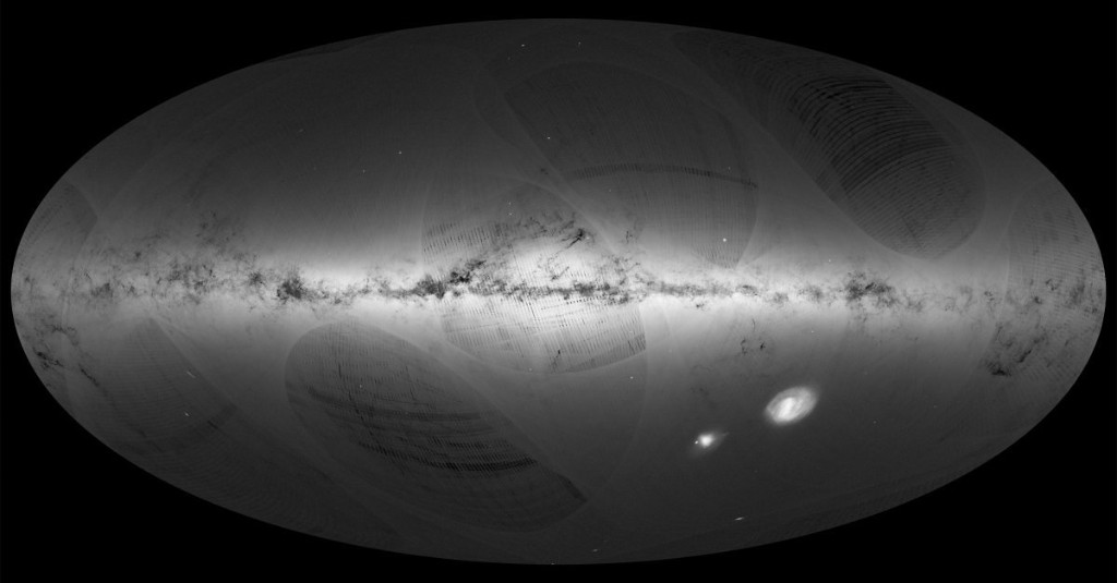 A New Map of the Milky Way Contains Over 1 Billion Stars