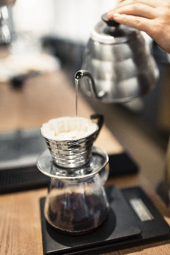 The Simplest Way to Make Pour-Over Coffee