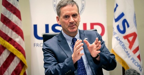 USAID Head, Rare Trump Aide With Bipartisan Support, Is Resigning