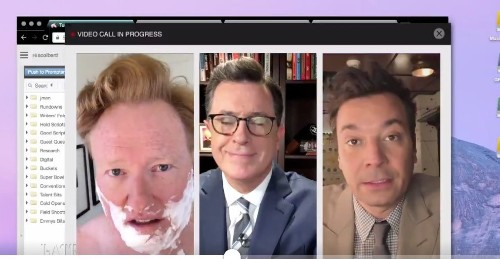 'Late Night Lowlifes' Stephen Colbert, Jimmy Fallon and Conan O'Brien Have a Message for President Trump