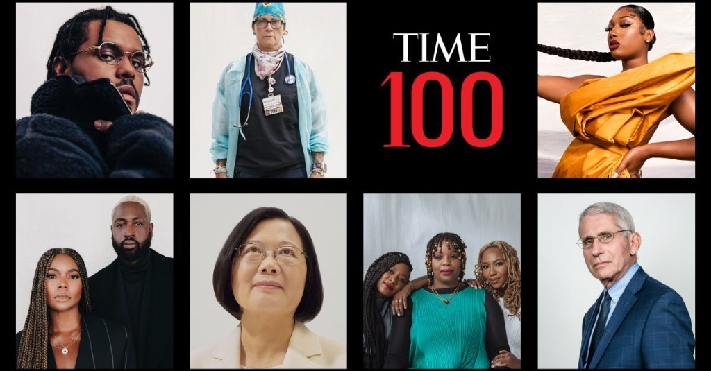 TIME  100 Most Influential People 2020 - cover
