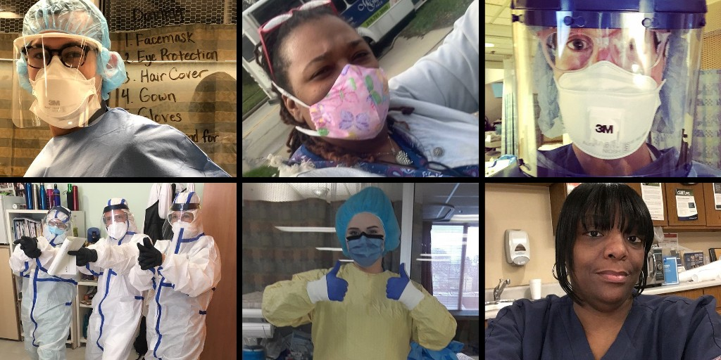 'Please, God, Just Cover Me.' Health Care Workers Are Risking Their Lives Daily in the Fight Against Coronavirus