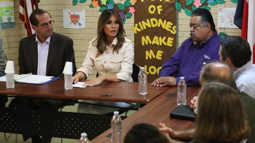 Melania Trump Says Children in Detention Center Are There 'As a Direct Result of Adult Actions'