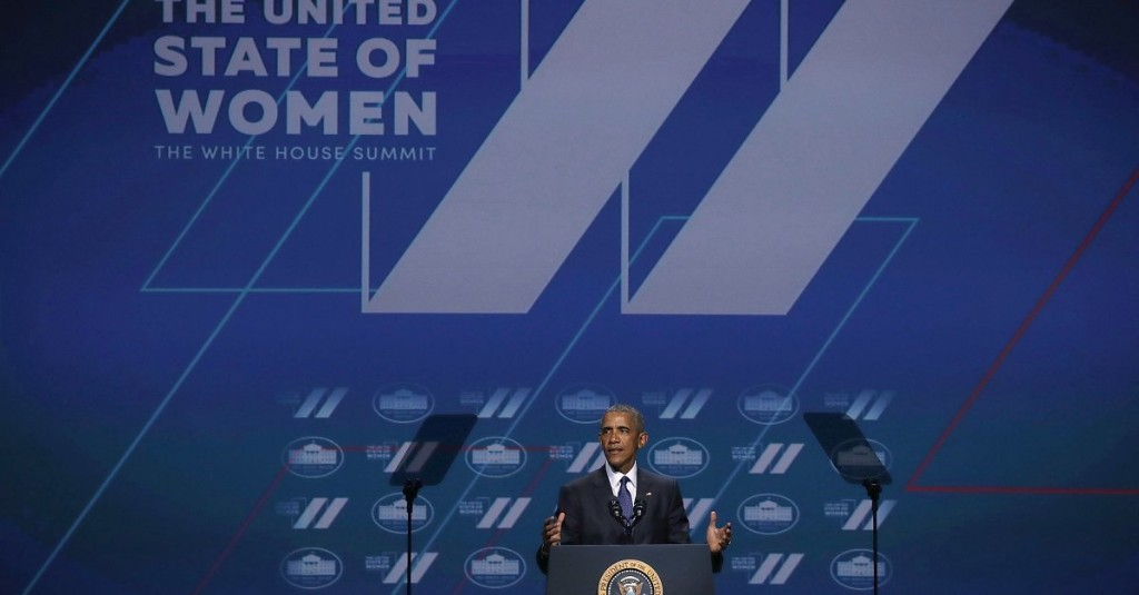 President Obama at Women's Summit: This Is What a Feminist Looks Like