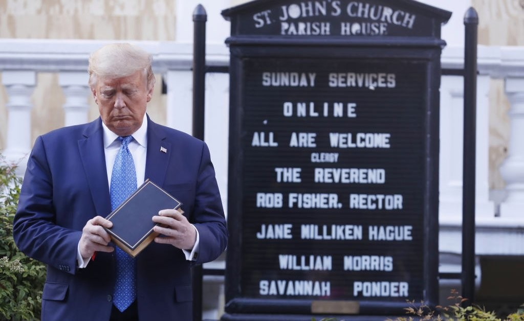 Trump's Big Moment in Front of a Church Shows He Has Missed the Point of the Protests