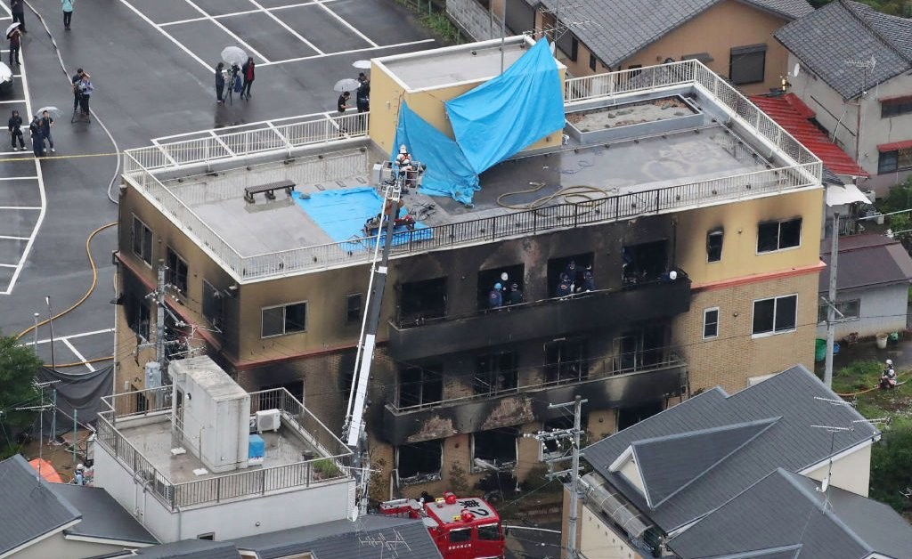 Japanese Police Arrest Suspect in Anime Studio Arson That Killed 36 People