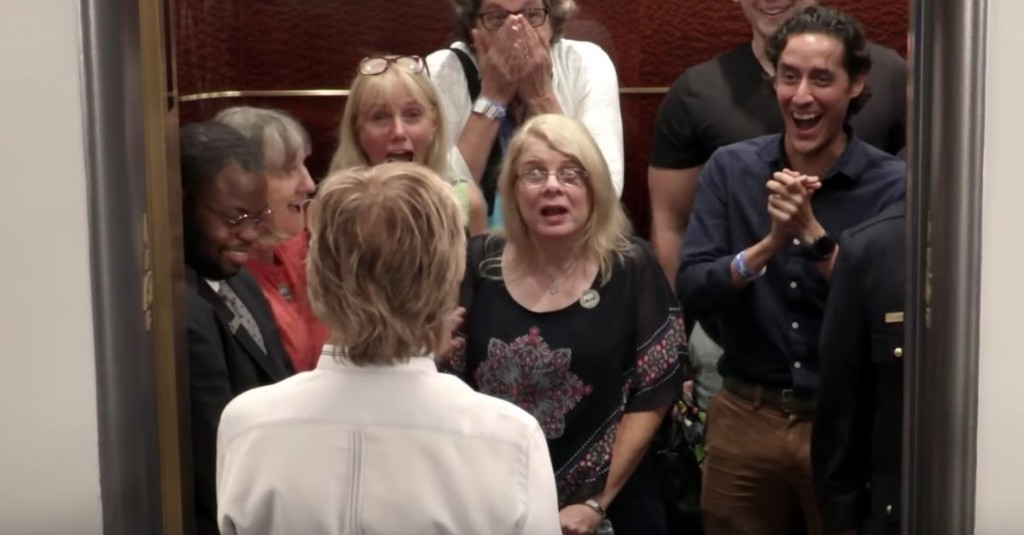 Paul McCartney Pranking Fans in Elevators Is Just a Delight