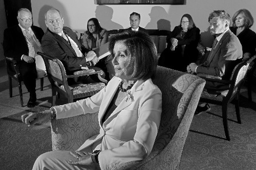 We've Upped the Ante.' Why Nancy Pelosi Is Going All in Against Trump