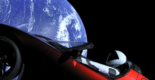Boeing CEO Says He Wants to Launch a Rocket to Bring Back Elon's Tesla