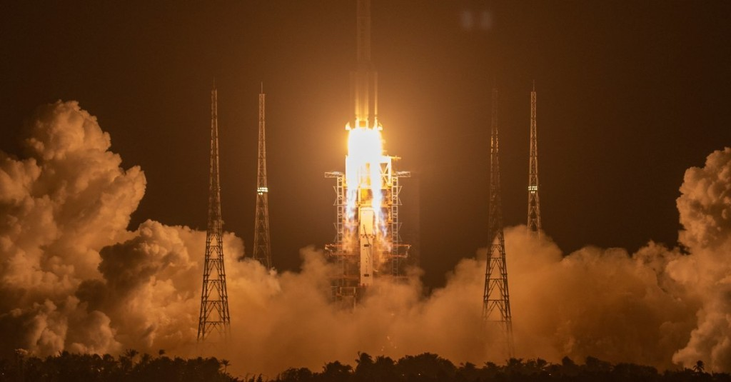 China Launches a Mission to Bring Back Material From the Moon