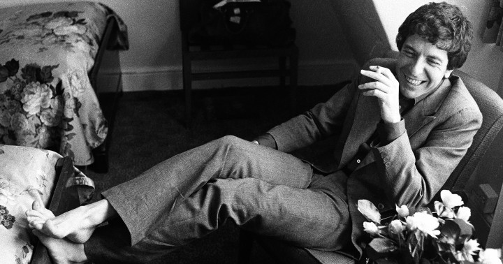 See Leonard Cohen's Life in Pictures