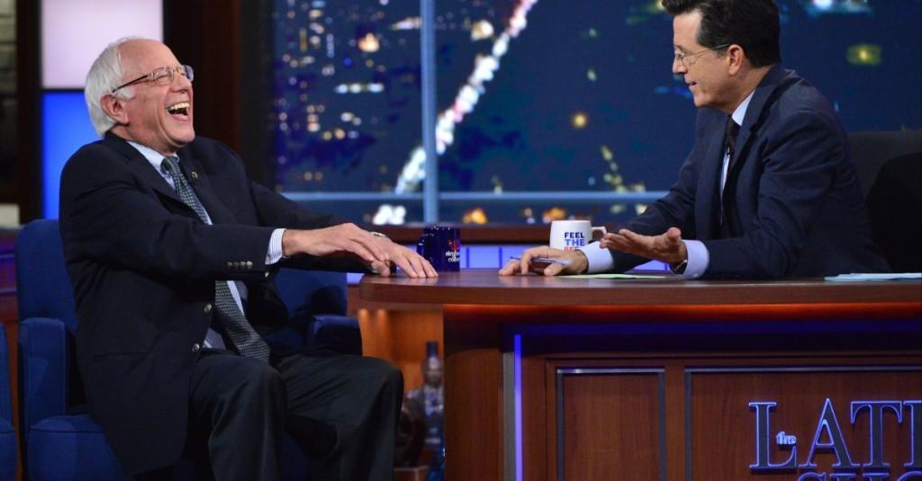 Bernie Sanders Explains Why Young People Love Him on Stephen Colbert