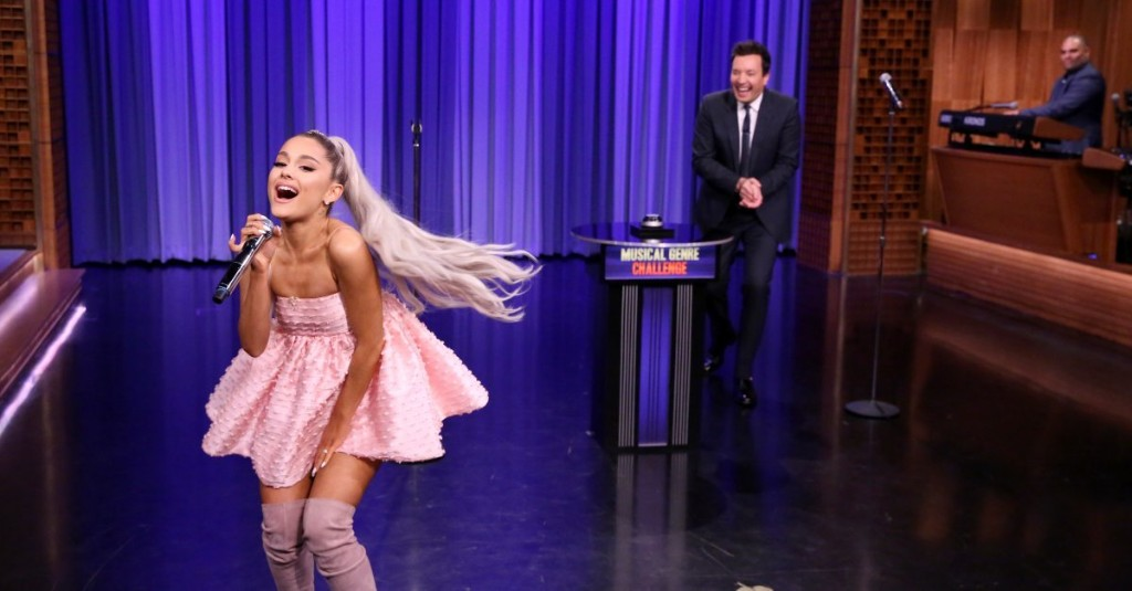 Ariana Grande's Flawless Musical Impressions Are a Wild Ride