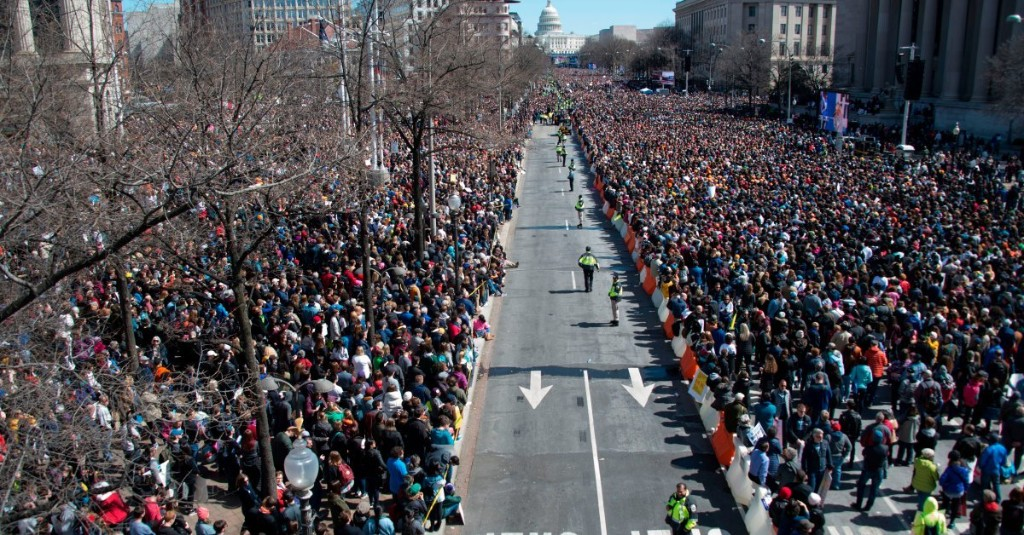 These Photos Show How Big the March For Our Lives Crowds Were Across The Country