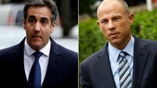 Stormy Daniels' Attorney Drops Motion to Represent Her in Michael Cohen Probe