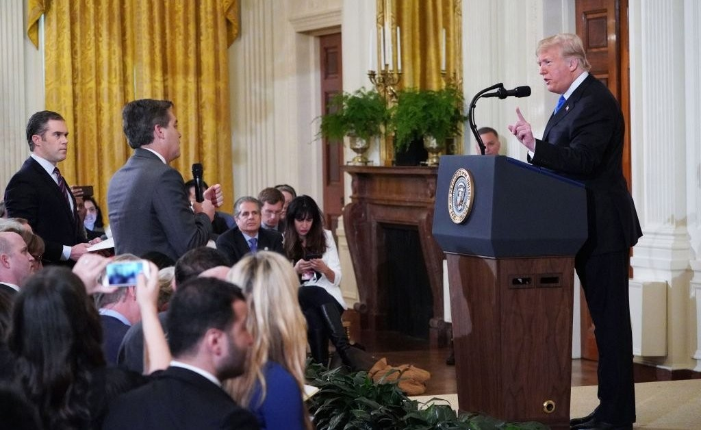 White House Says Journalists Don't Have 'First Amendment Right' to Enter Building in Legal Response to CNN Lawsuit