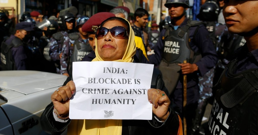 Deal to End Nepal Blockade 'Within Reach,' Parties Say