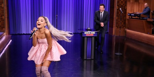 Ariana Grande's Flawless Musical Impressions Are a Wild Sonic Experience