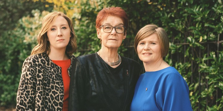 GRAINNE GRIFFIN, AILBHE SMYTH AND ORLA O'CONNOR By Ruth Negga